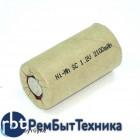 Аккумулятор Ni-Mh SC 1.2V 2100mAh