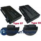 Аккумуляторная батарея 3S4400-S1S5-07 (TYPE 07) для ноутбука Fujitsu-Siemens Amilo Pi3525 OEM