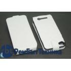 Аккумулятор/чехол для Apple iPhone 4/4s 2300 mAh черно-белый leather case