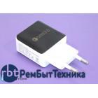 Блок питания (сетевой адаптер) Lz-319 5V/3A 9V/2A 12V/1.5A 18W USB Quick Charge 3.0 Черно-белый