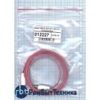 Аудио кабель Jack 3.5 - Jack 3.5, 1м (плоский кабель) малиновый