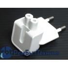 Адаптер-переходник Europlug (Евровилка) для блоков питания Apple