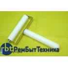 Валик резиновый для приклейки окоплёнки 8см белый