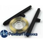 Леска (струна) для отделения защитных стёкол 0,10 мм с ручками