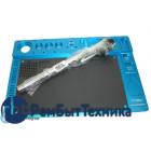 Алюминиевая платформа для микроскопа с ковриком для пайки