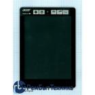 Модуль (Матрица, экран, дисплей + тачскрин) Acer Iconia Tab A1-810 A1-811 черный с рамкой