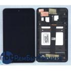 Модуль (Матрица, экран, дисплей + тачскрин) Asus MeMo Pad 8 ME181 ME181C черный с рамкой