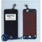 Дисплей iPhone 5S в сборе с тачскрином (JDF) черный