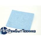 Губка для очистки паяльных жал 60х60 синяя