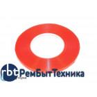 Скотч двусторонний прозрачный 3M с красной защитной лентой ширина 2мм 50м