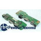 Плата питания для ноутбука HY-DE033 Dell Inspiron 1545 с USB VGA и LAN разъемами