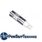 Светодиодная автолампа T10 - W5W C.R.E.E. white (1шт.) 50W