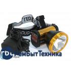 Налобный светодиодный фонарь 1LED TX-8838 50W (встроенный аккумулятор)