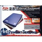 Внешний бокс для жесткого диска HDD AgeSTAR SUB201 синий
