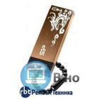Флешка USB 4Гб SILICON POWER, коричневая