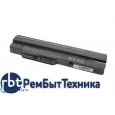 Аккумуляторная батарея для ноутбука MSI Wind U100, RoverBook Neo U100WN U135 4400mah черная OEM