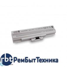 Аккумуляторная батарея AI-BPS13 для ноутбука Sony Vaio VGN, VPC Series 11.1V 4400mAh OEM_noname silver