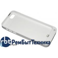 Аккумулятор/чехол для Apple iPhone 5C 2200 mAh белый