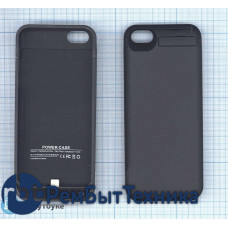 Аккумулятор/чехол для Apple iPhone 5G 4200 mAh черный
