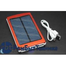 Универсальный внешний аккумулятор Powerbank 10000mAh на солнечной батарее