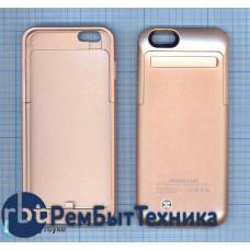 Аккумулятор/чехол для Apple iPhone 6 3500 mAh золотистый