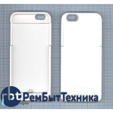 Аккумулятор/чехол для Apple iPhone 6 4000 mAh белый