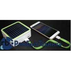 Универсальный внешний стек-аккумулятор G-POWER STX6000II на 12000mAh с солнечной панелью