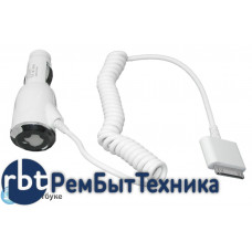 Автомобильная зарядка для Apple iPhone4s,  iPhone4 (5V, 1A) white