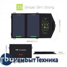 Зарядное устройство на солнечных панелях ALLPOWERS AP-5V7W USB 5,5V 7W 1270mA