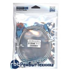 Дата кабель Vention USB 2.0 - microUSB 1m серый круглый