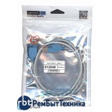 Дата кабель Vention USB 2.0 - USB 1m серый круглый