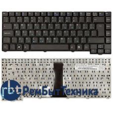 Клавиатура для ноутбука Asus F2 F3 Z53 черная 24pin