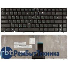 Клавиатура для ноутбука Asus UL30 K42 K43 X42 U41 черная с черной рамкой