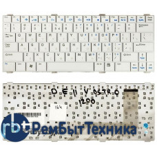 Клавиатура для ноутбука Dell Vostro 1200 V1200 белая