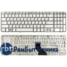 Клавиатура для ноутбука HP Compaq Presario CQ60, Pavilion G60 серебристая