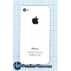 Задняя крышка для iPhone 4  OEM белая