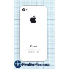 Задняя крышка для iPhone 4S original белая
