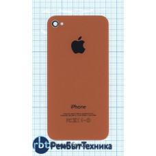 Задняя крышка для iPhone 4/4s (OEM) оранжевая