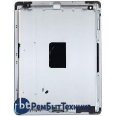 Задняя крышка для Apple iPad 4 A1458 серебристая