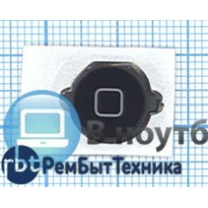 Кнопка HOME для Apple iPod touch 4 черная