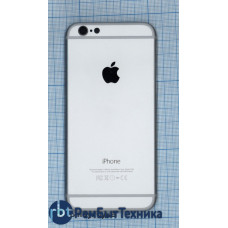 Задняя крышка для iPhone 6 (4.7) серебристая