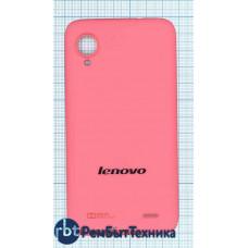 Задняя крышка аккумулятора Lenovo S720 розовая