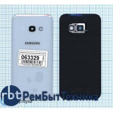 Задняя крышка Samsung A320 Galaxy A3 (2017) синяя
