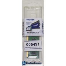 Модуль памяти PATRIOT DDR3- 1Гб, 1333, SO-DIMM, Ret