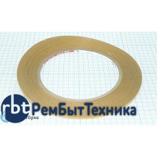 Скотч Symbio двухсторонний, прозрачный, ширина 2мм, длина 50м ORIGINAL