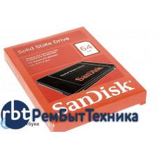 "Жесткий диск 2.5"" SANDISK SDSSDP-064G-G25, 64Гб, SSD, SATA III"