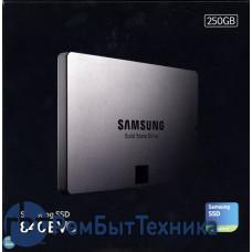 """Жесткий диск 2.5"""" Samsung 840 EVO MZ-7TE250BW, 250Гб, SSD, SATA III"""