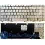 Клавиатура для ноутбука Asus W3 W3J A8 F8 N80 серебристая